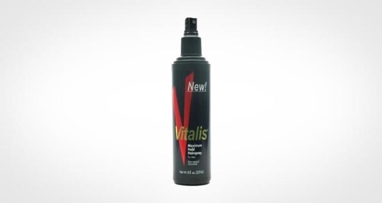 Vitalis Hairspray Pump Maximum Hold for guys