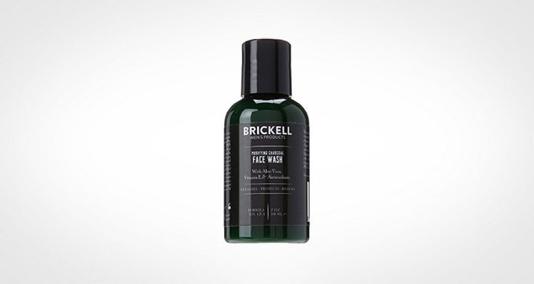 Brickell Men's Products face wash for men
