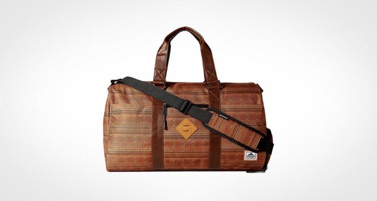 Steve Madden Men's Nylon Duffle Bag