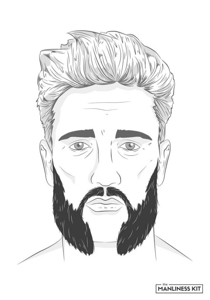 hulihee beard style