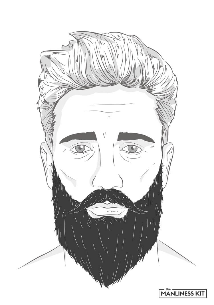Cool The Complete List Of Long Beard Styles The Manliness Kit Natural Hairstyles Runnerswayorg