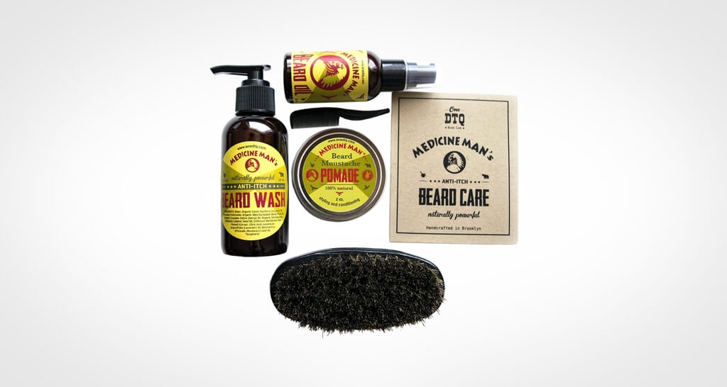 Medicine Man's Anti-Itch Beard Grooming Kit