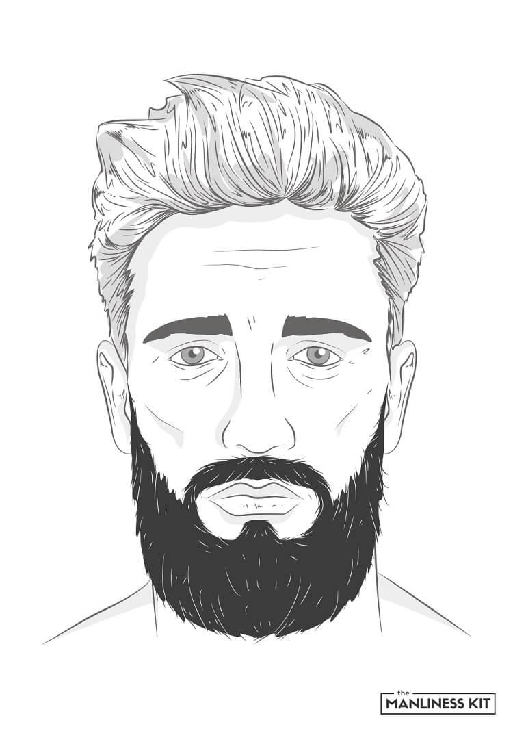 garibaldi long beard style