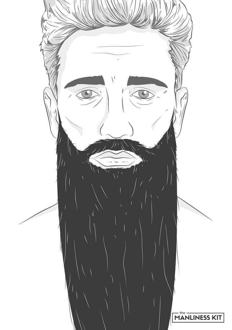 super wizard long beard style