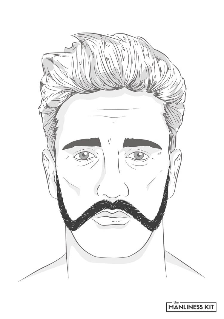 franz josef mustache style