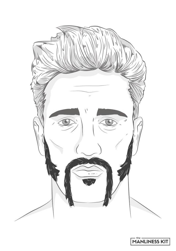 the winnfield beard style