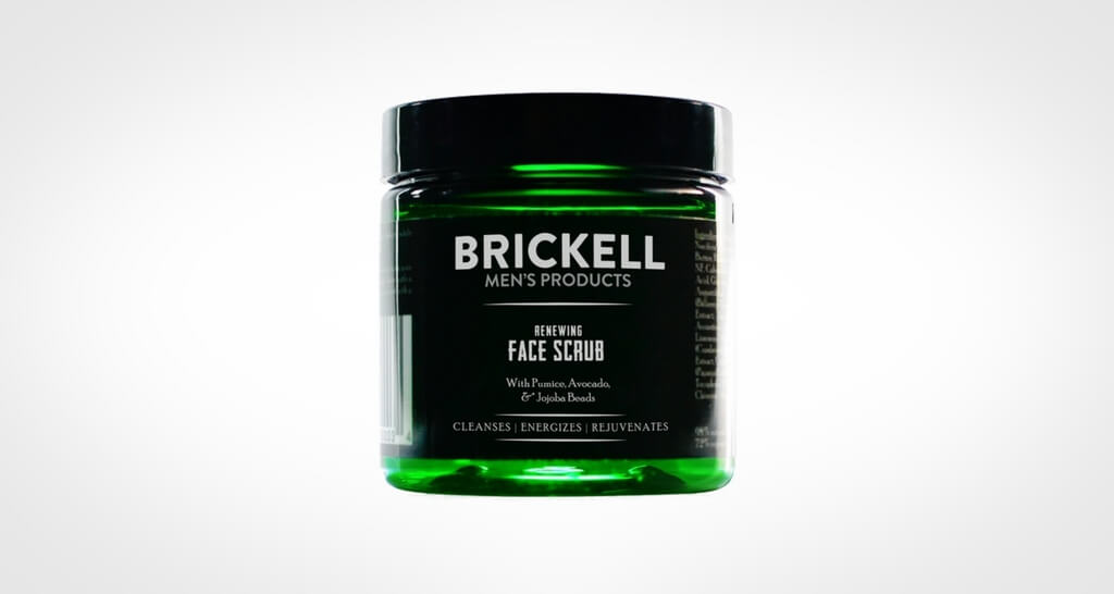 Brickell face scrub