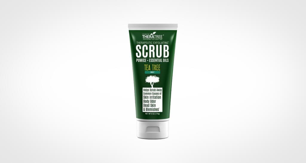 Oleavine body scrub