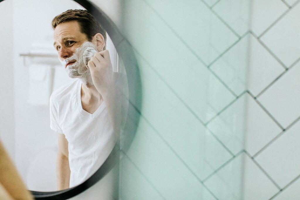 Shaving against the grain
