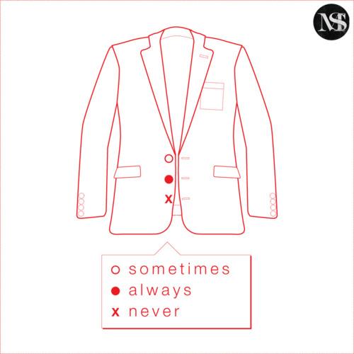 how to button a blazer