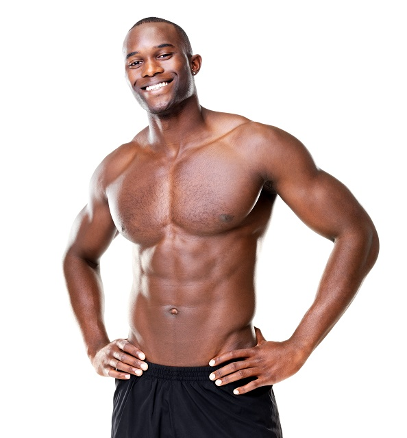 build muscles as a Nigerian man