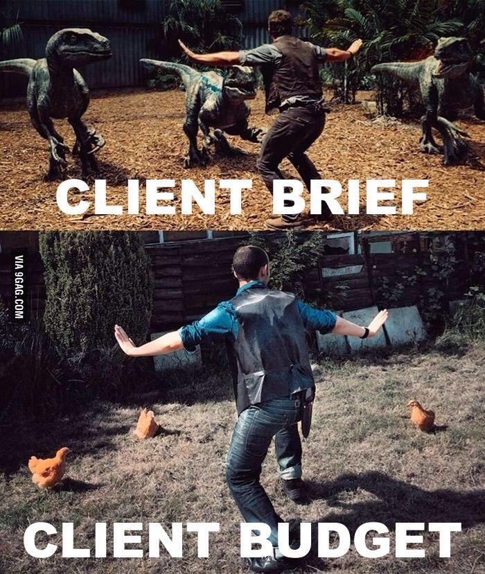 client brief client budget