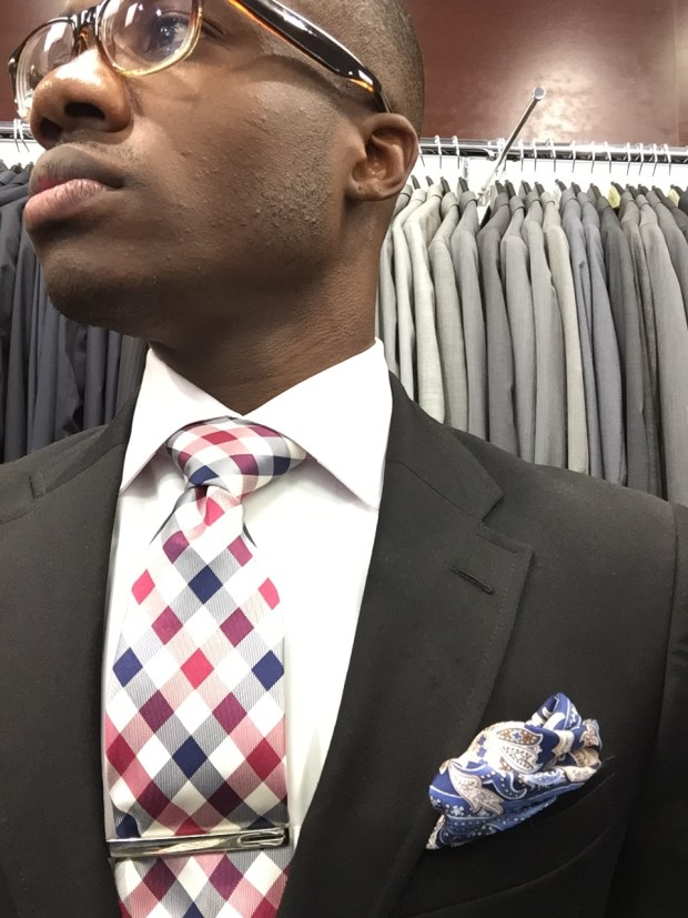 Guy in pocket square