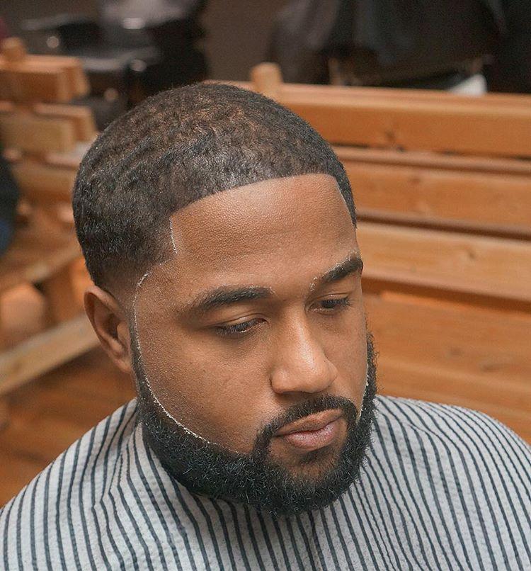 nice waves haircut for black men