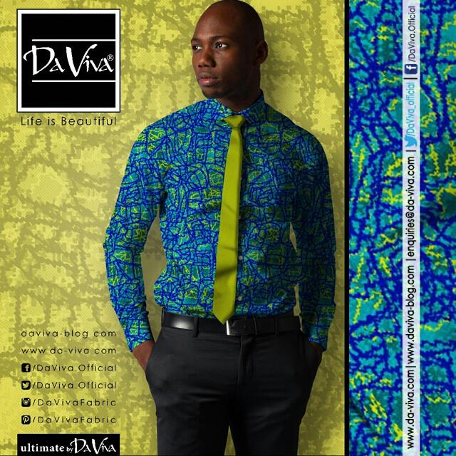 Cool Daviva Ankara Styles for Men5