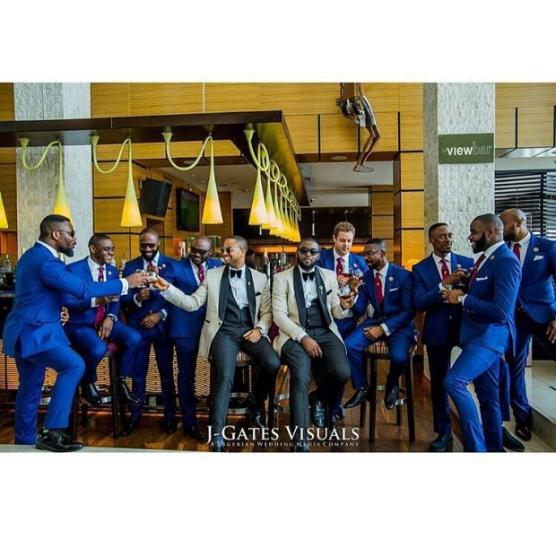 Grooms and Groomsmen Attire: Wedding Suits4