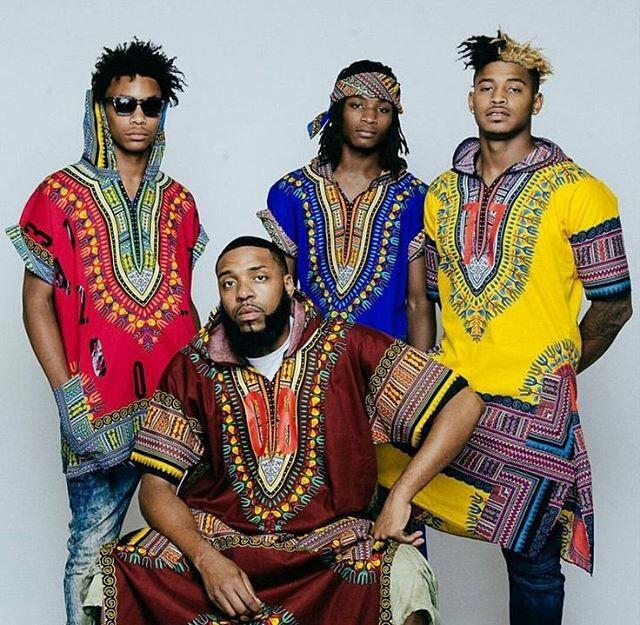 Dashiki for Men: Cool Shirts & Hoodies7