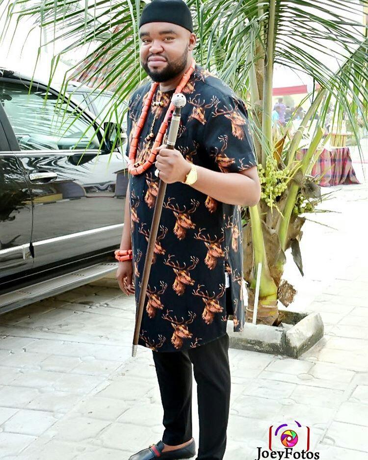 Igbo Traditional Wedding Attire for Groom3