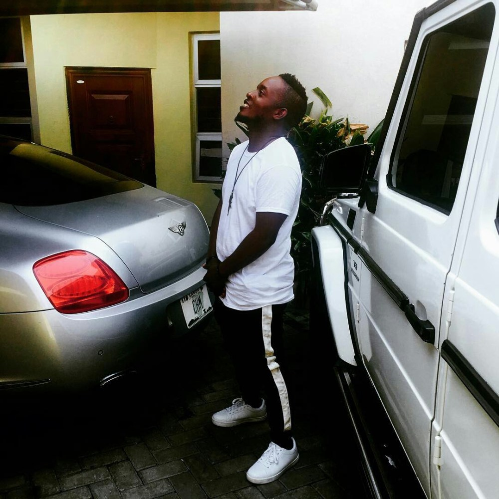 mi abaga Nigerian celebrities and their Cars (Exclusive Photos)