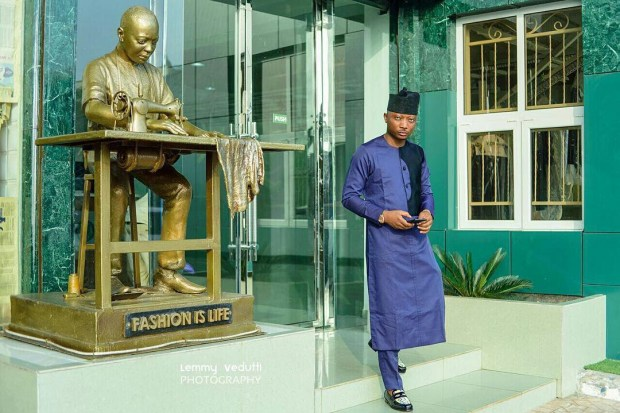 Dapper Nigerian Men's Traditional Fashion7