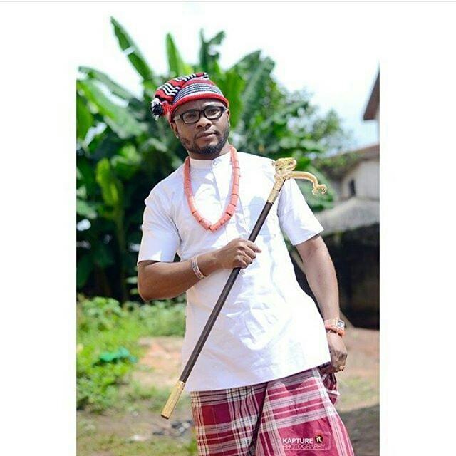 Igbo Traditional Wedding Attire for Groom8