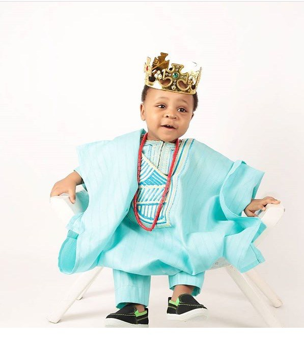 cute Agbada Styles for Baby Boys