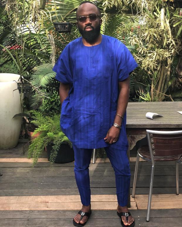 male nigerian male native wear