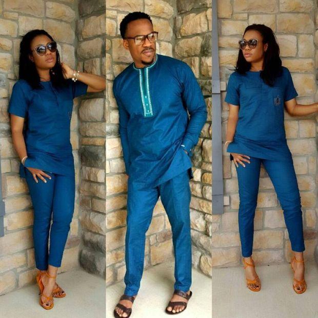 senator styles for couples blue color