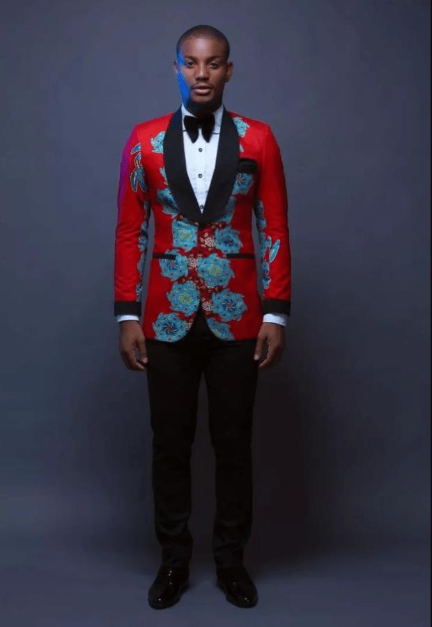 extravagant wedding suit for men