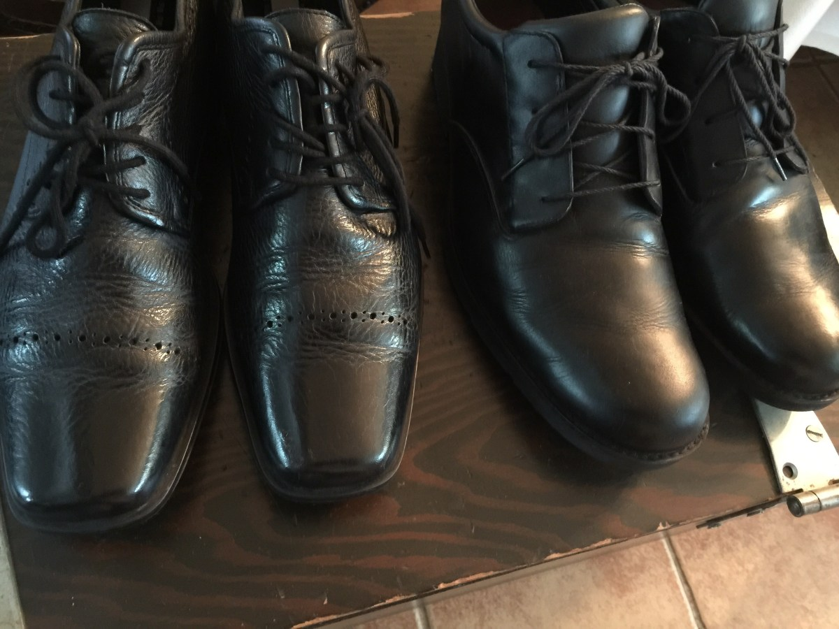 Men's shoes just shined