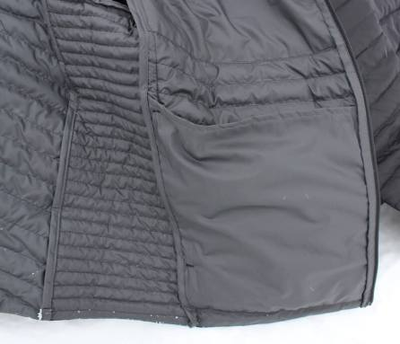 review microtherm stormdown jacket