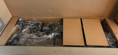 This photo shows the box for the Cabela's Insurgent HC RTH Compound Bow.