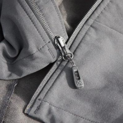This This review photo shows the REI Co-op Activator Soft-Shell Jacket zippers.