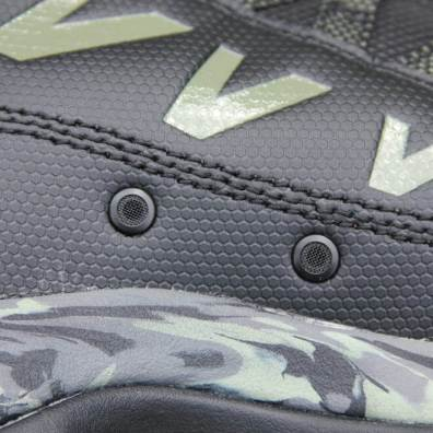This closeup review photo shows the drain ports on the L.L.Bean Apex Wading Boots.