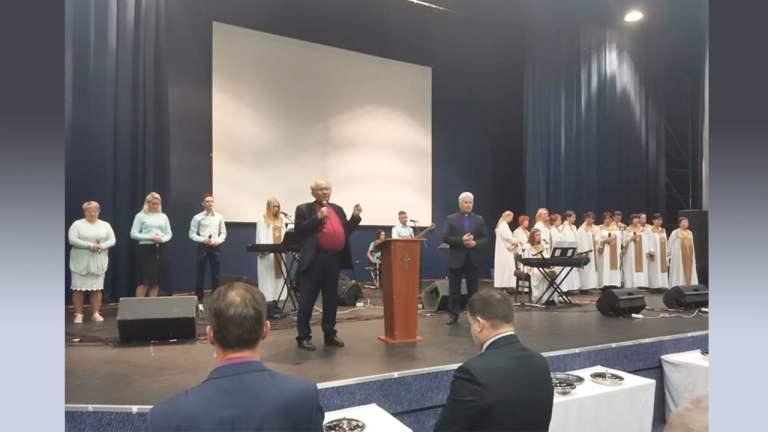 St. Petersburg Evangelical Church Conference – Organized by the Russian Manmin Church where pastors united as one –  सेंट पीटर्सबर्ग इवेंजेलिकल चर्च सम्मेलन – रूसी मानमिन चर्च द्वारा आयोजित जहां पास्टर एक एकजुट हुए