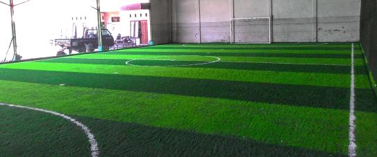 pembuatan lapangan futsal