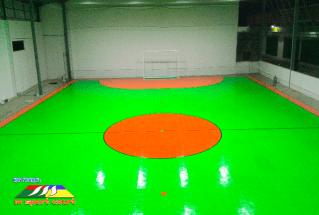 ukuran lapangan futsal