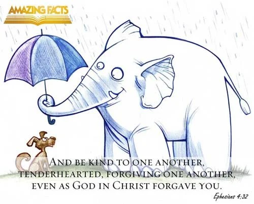 Ephesians 4:32 - This Scripture Picture is provided courtesy of Amazing Facts. Visit us at www.amazingfacts.org