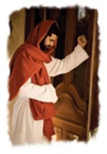 Jesus promises to enter my life when I open the door to Him.
