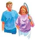 Aprenda a reír y a disfrutar de sanos momentos juntos.