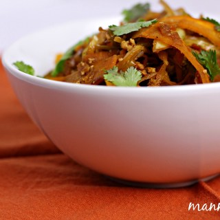 low carb eggroll in a bowl|www.mannaandspice.com