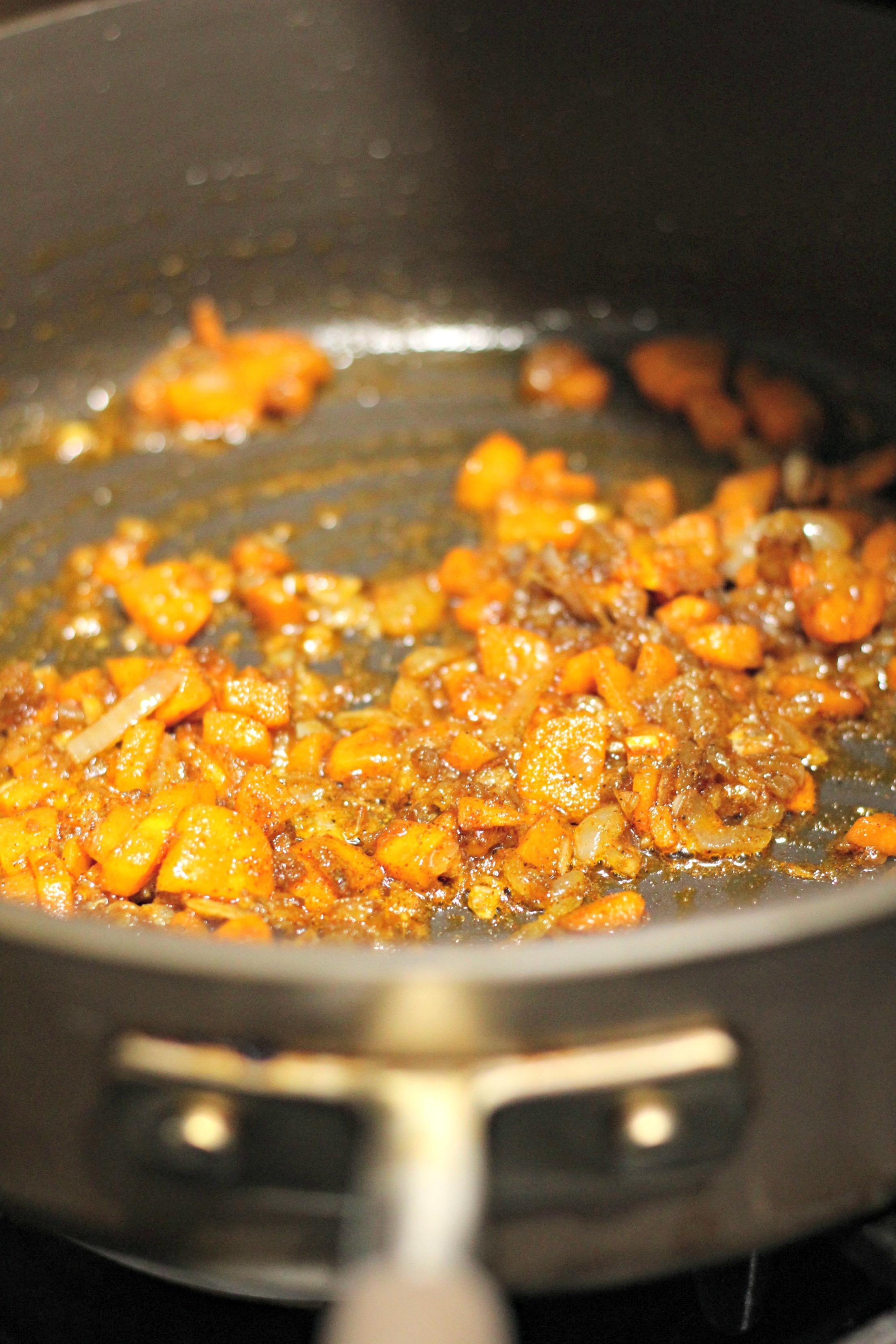 indian inspired pumpkin soup 4