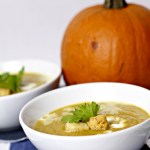 indian inspired pumpkin soup|www.mannaandspice.com
