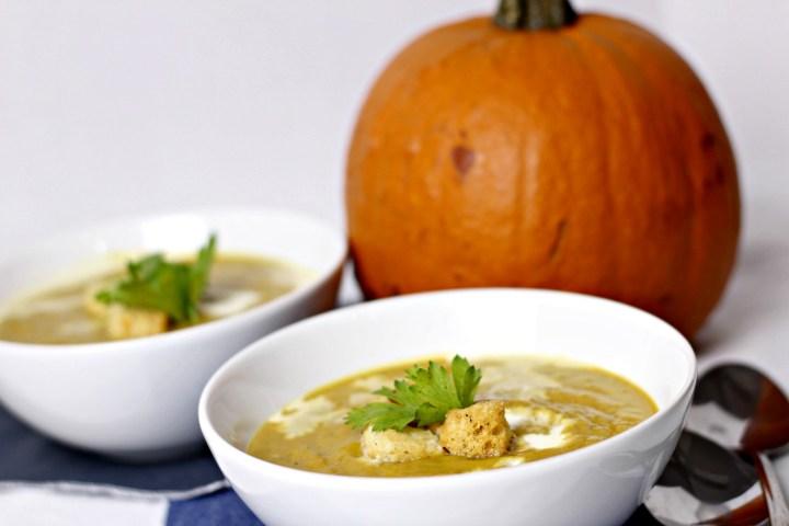 indian inspiredf pumpkin soup
