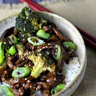 Better Than Takeout Beef & Broccoli|www.mannaandspice.com