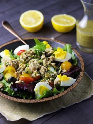 Chopped Nicoise Salad www.mannaandspice.com