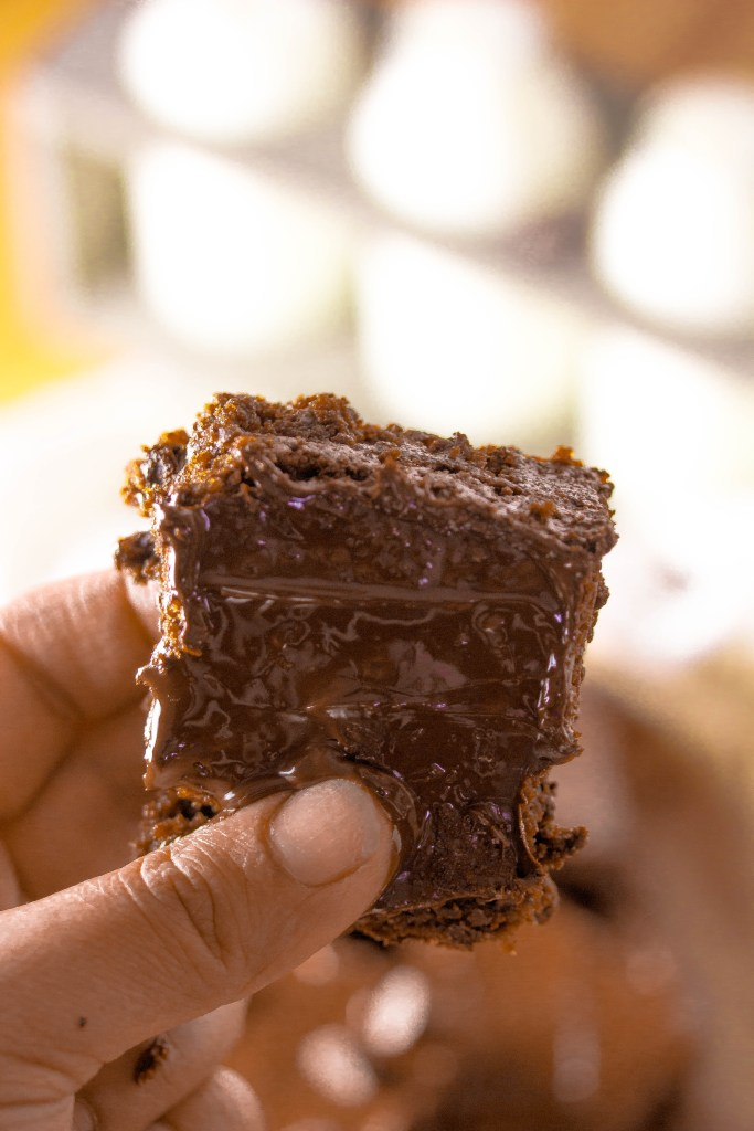 Accidentally Outrageous Brownies|www.mannaandspice.com
