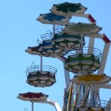 I see nothing in space as promising as the view from a Ferris wheel. (E.B. White)