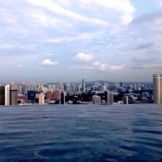 Swimmingpool @ MBS Singapore