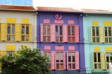 I love the colorful walls and windows